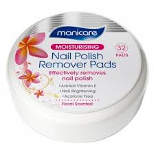nail polish wipes